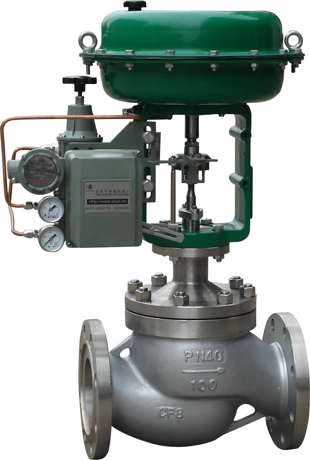 ZJHP(M)型气动单座(套筒)调节阀由气动多弹簧薄膜执行机构和低流阻直通单座阀(套筒阀)组成,单座阀阀体直通单座盖上导向结构,阀芯为柱塞型结构,与普通单座阀相比具有体积小,重量轻,流量大等特点适用于流量大,泄漏量要求严格的场合。ZJHM型精小型套筒与普通套筒阀相比,具有体积小1/3,重量轻1/3,流量大1/3的特点,广泛应用于要求噪音低、压差大的工业过程自动控制系统中。 一、阀体 阀体形式:直通单座(套筒)倒S型铸造型阀 公称通径:DN20~300mm 公称压力:PN1.
