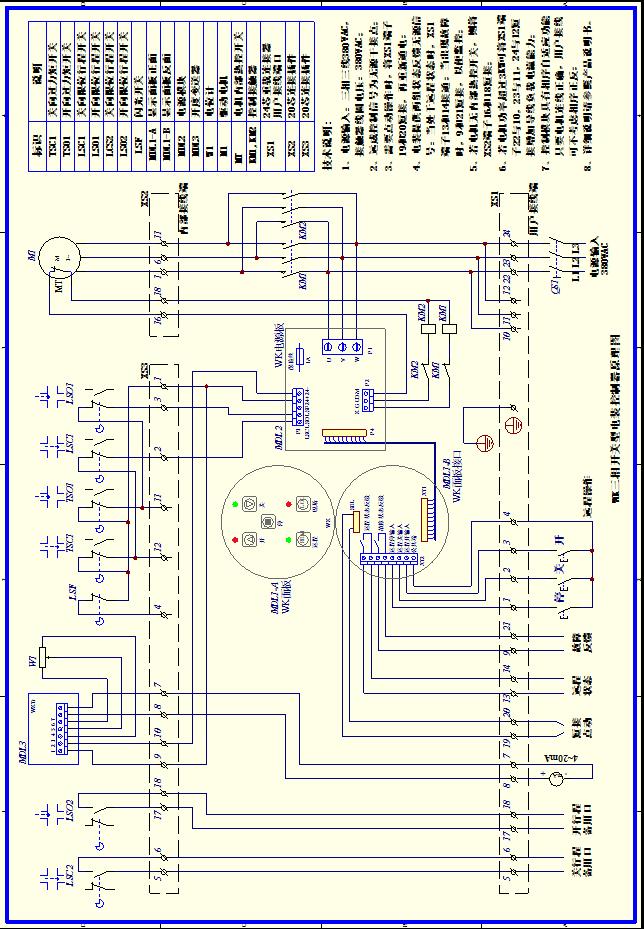 dzw+wk阀门电动装置